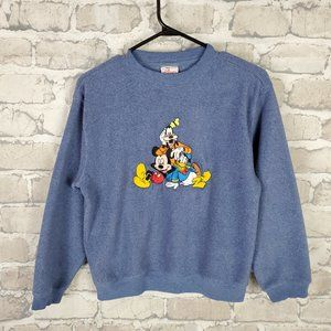 Vintage Disney Mickey and Friends Sweatshirt Large